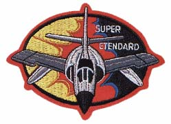 Patch Super-Étendard. (©DR)